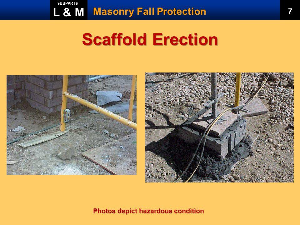 Scaffold Erection L & M Masonry Fall Protection 7