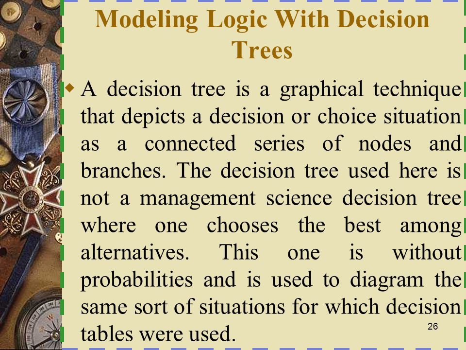 Modeling Logic With Decision Trees