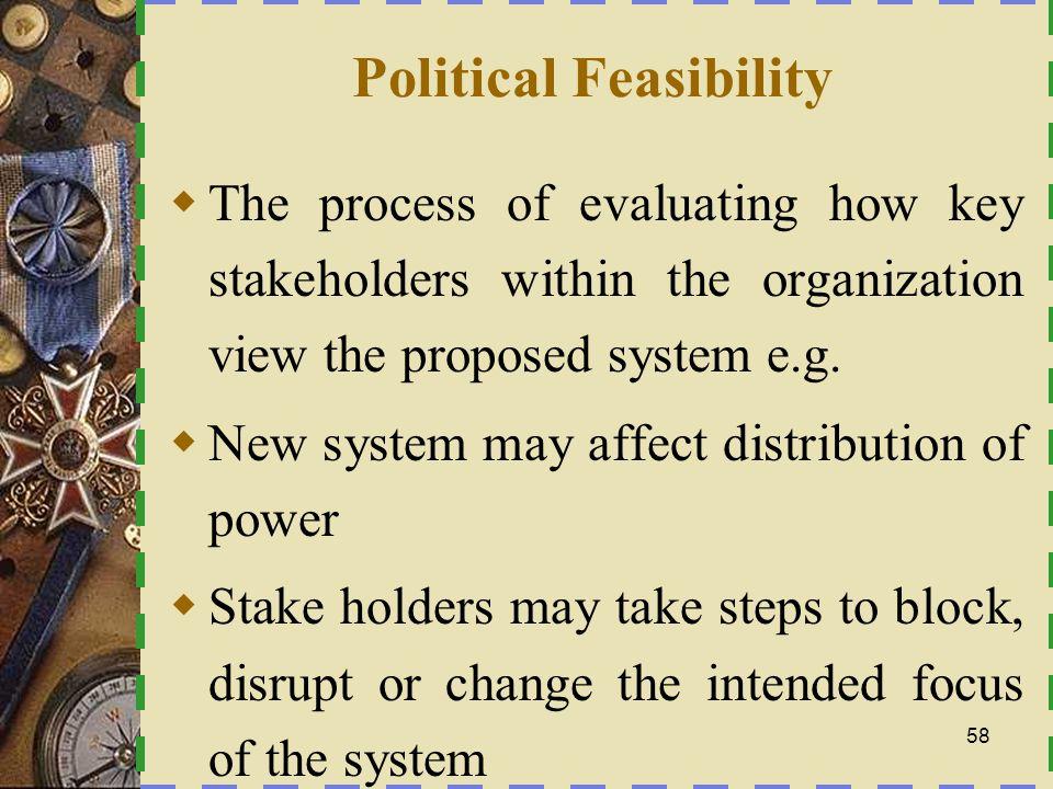 Political Feasibility
