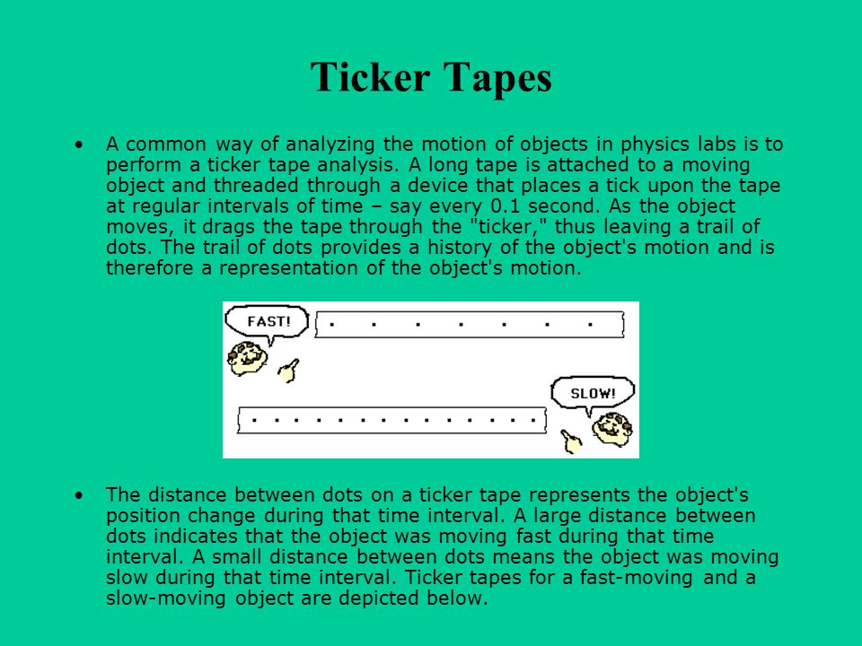 Ticker Tapes