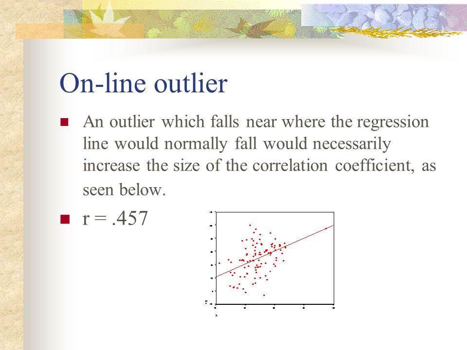 On-line outlier
