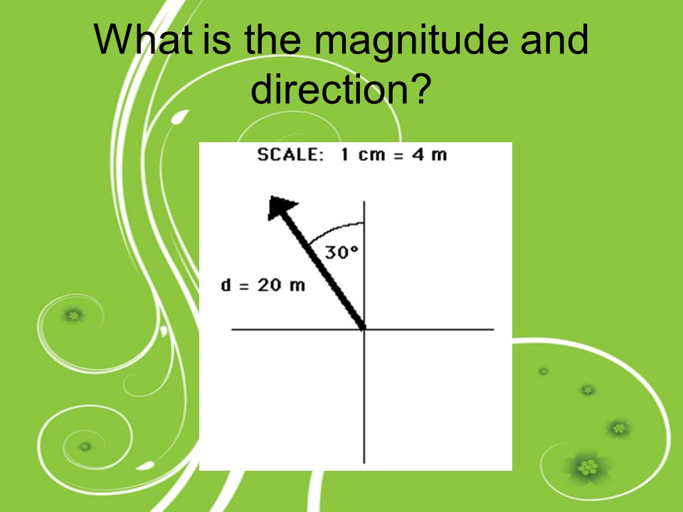 What is the magnitude and direction