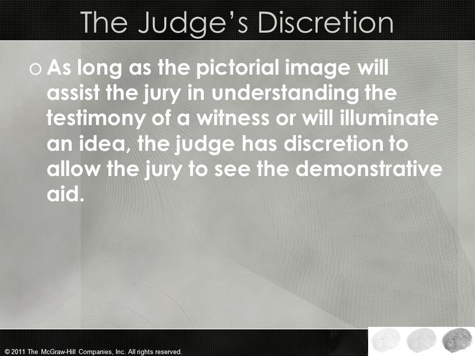 The Judge's Discretion