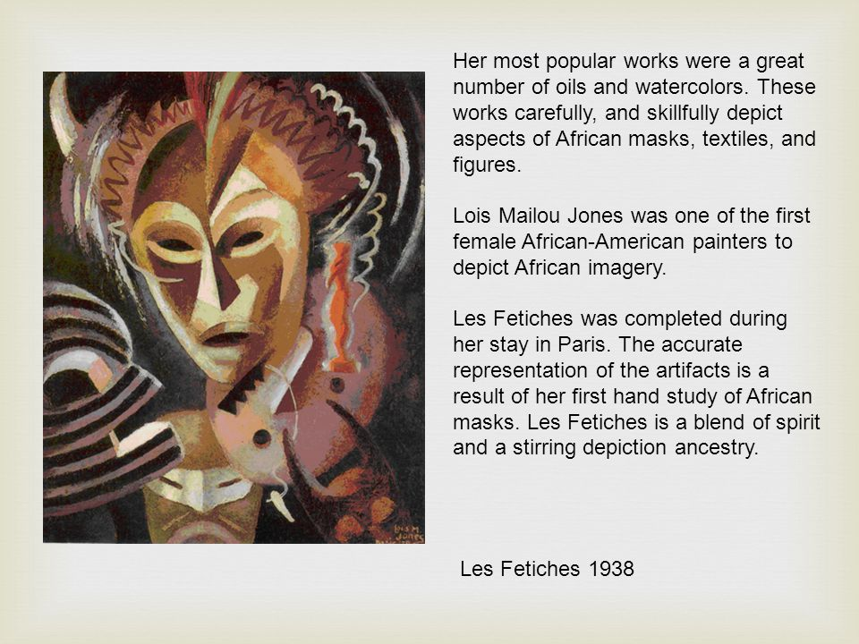 Her most popular works were a great number of oils and watercolors