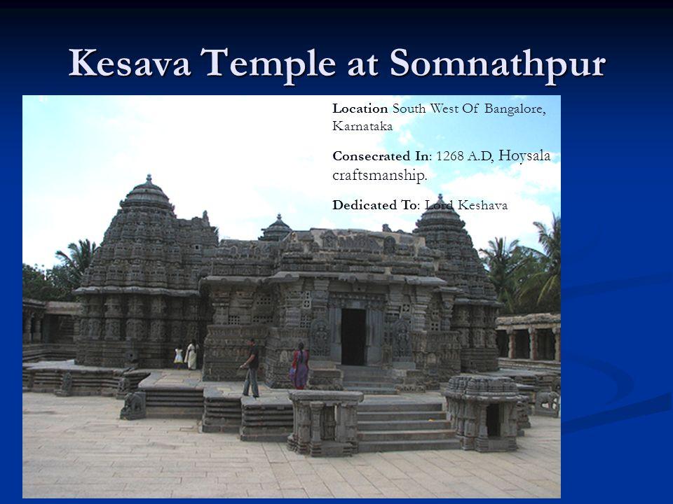 Kesava Temple at Somnathpur