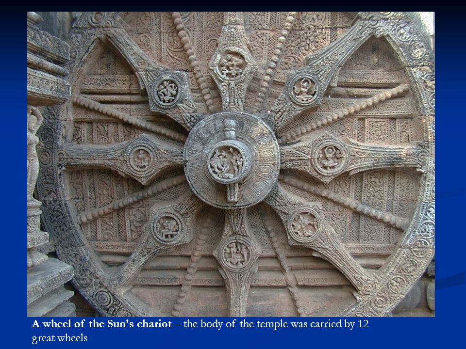 A wheel of the Sun s chariot
