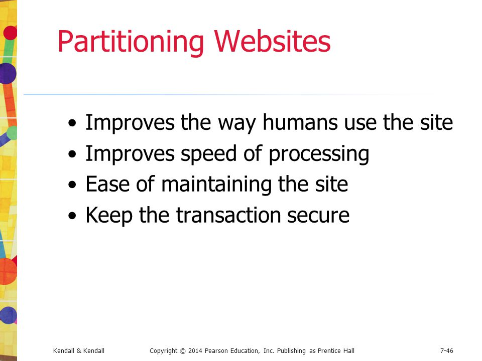 Partitioning Websites