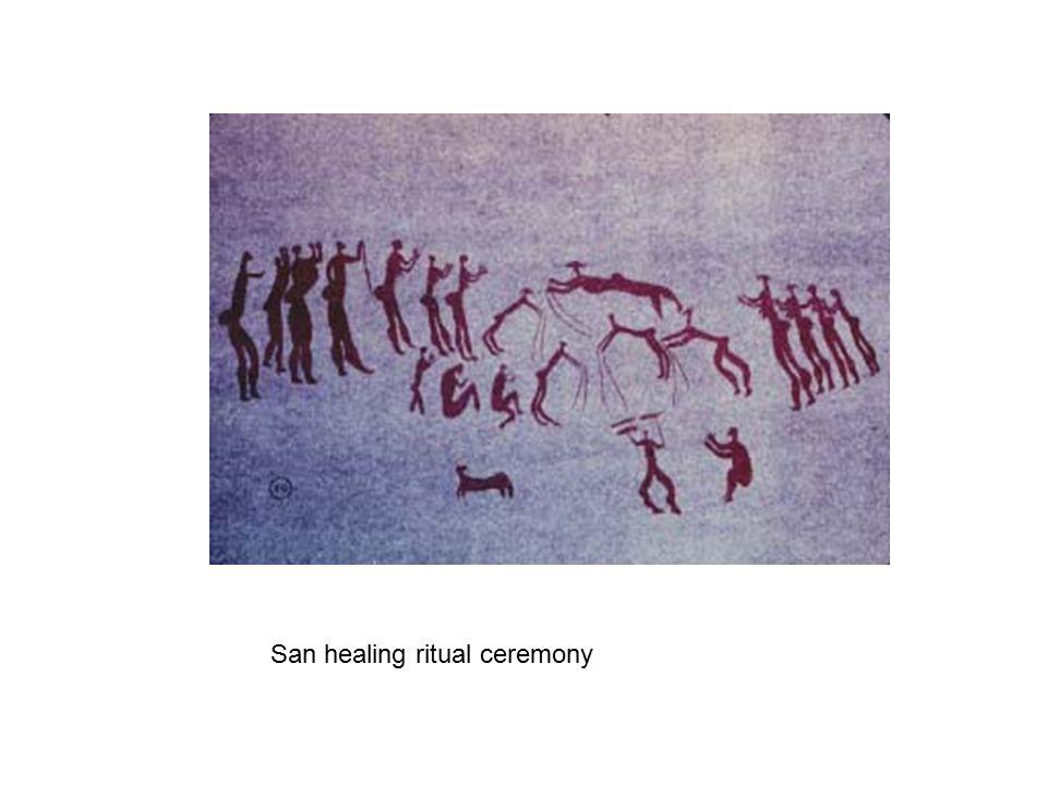 San healing ritual ceremony