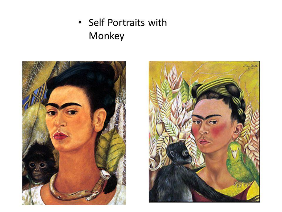 Self Portraits with Monkey