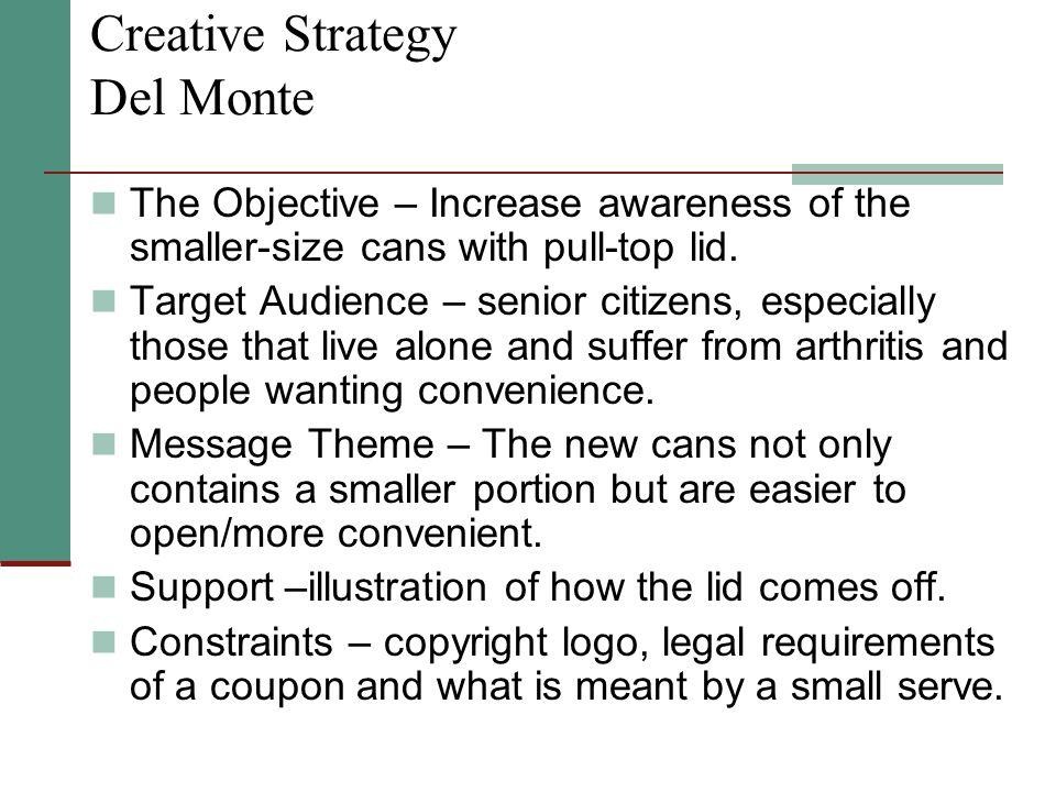 Creative Strategy Del Monte