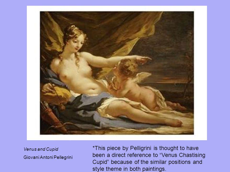 Venus and Cupid, Giovani Antonio Pellegrini