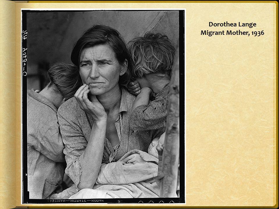 Dorothea Lange Migrant Mother, 1936