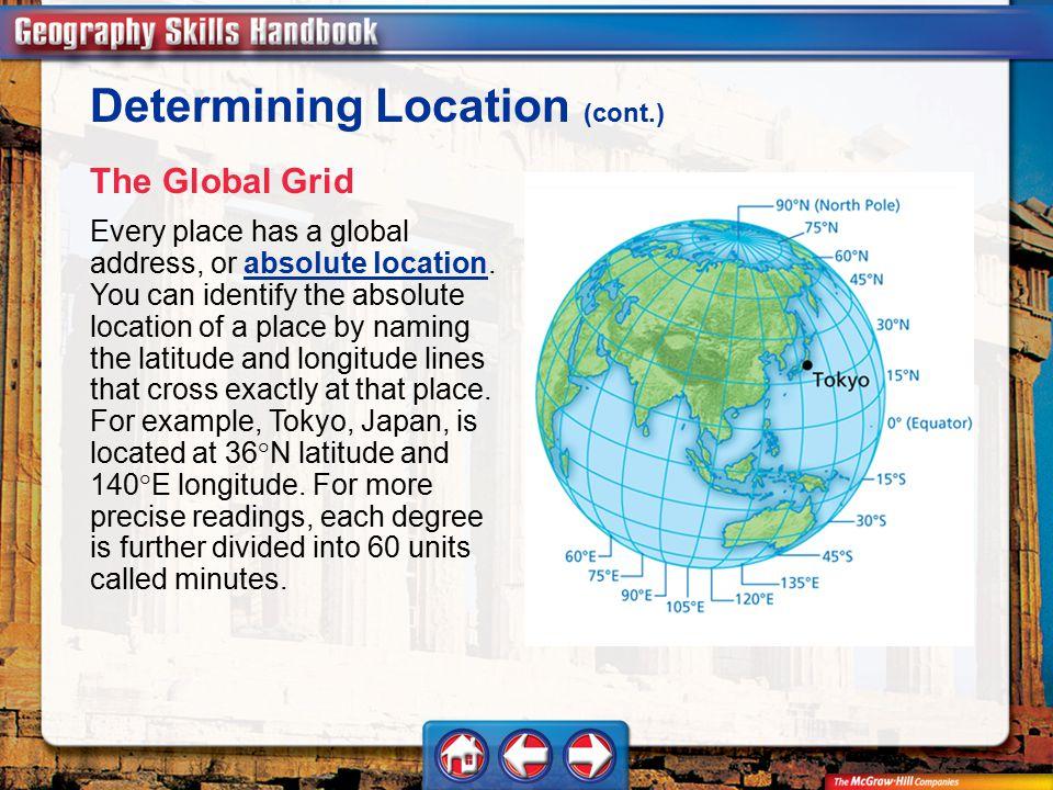 Determining Location (cont.)