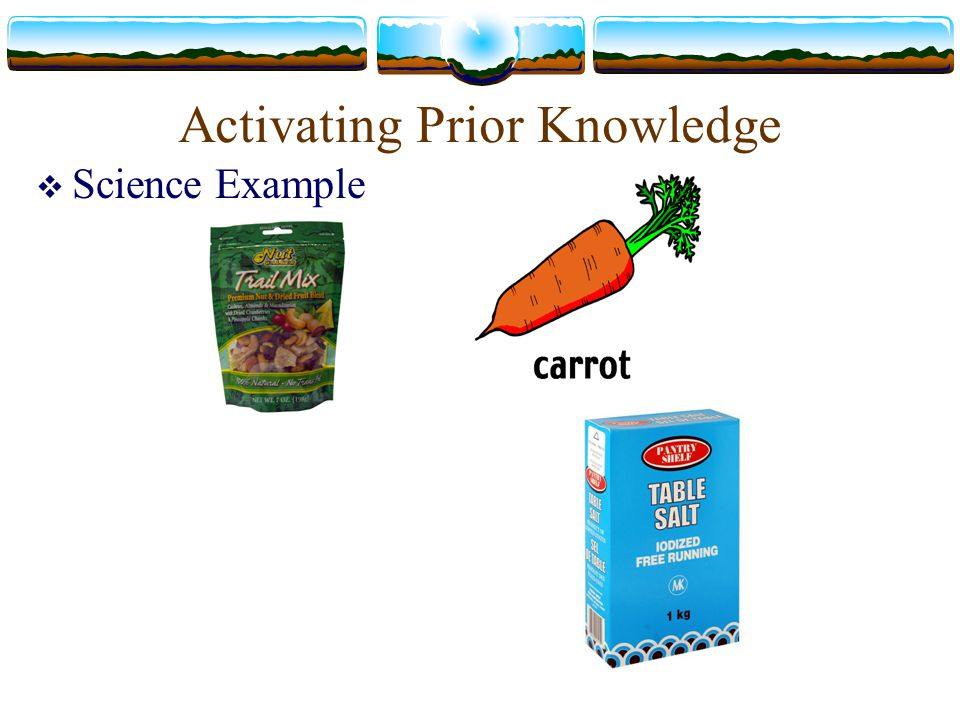 Activating Prior Knowledge Preview