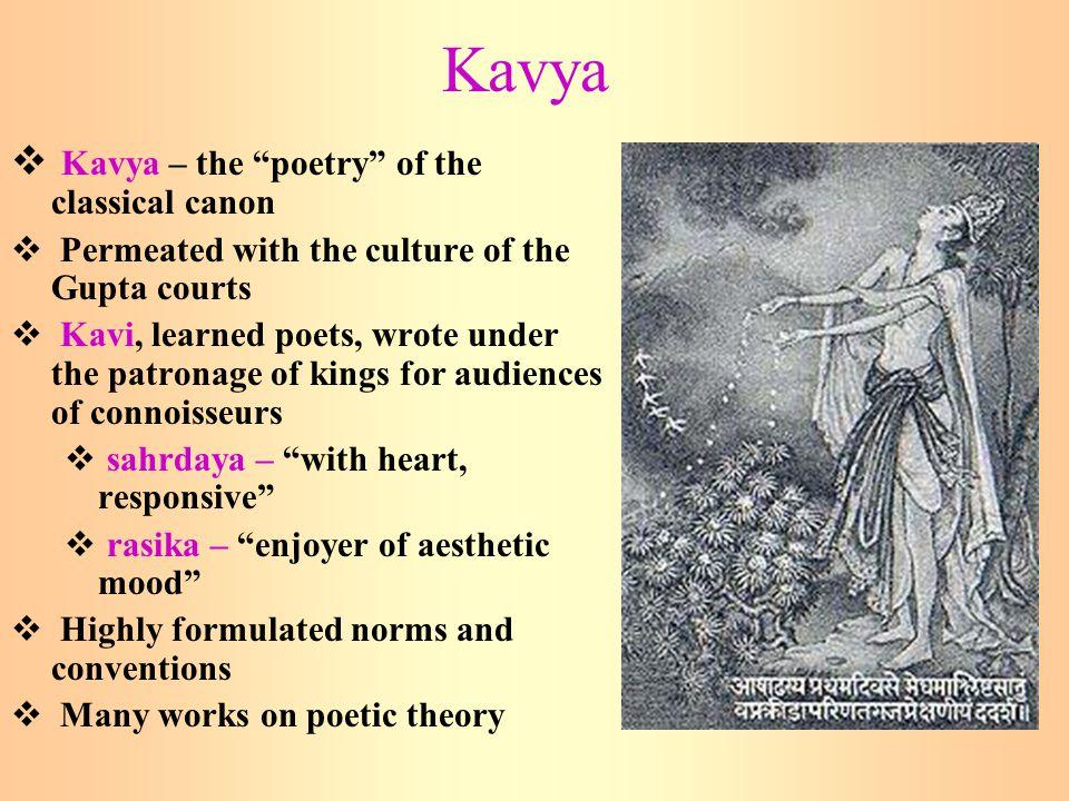 Kavya Kavya – the poetry of the classical canon