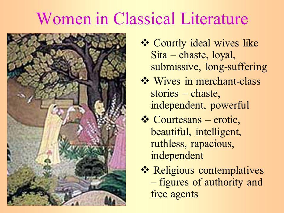 Women in Classical Literature