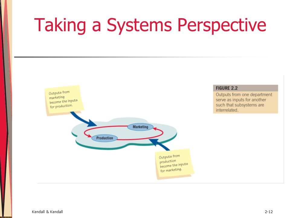 Taking a Systems Perspective