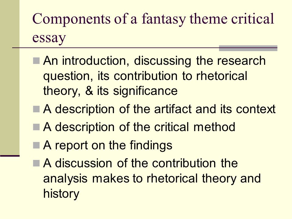 critical essays on film What is a critical essay a critical essay is a critique or review of another work, usually one which is arts related (ie book, play, movie, painting) however, the critical essay is more than just a summary of the contents of the other work or your opinion of its value.