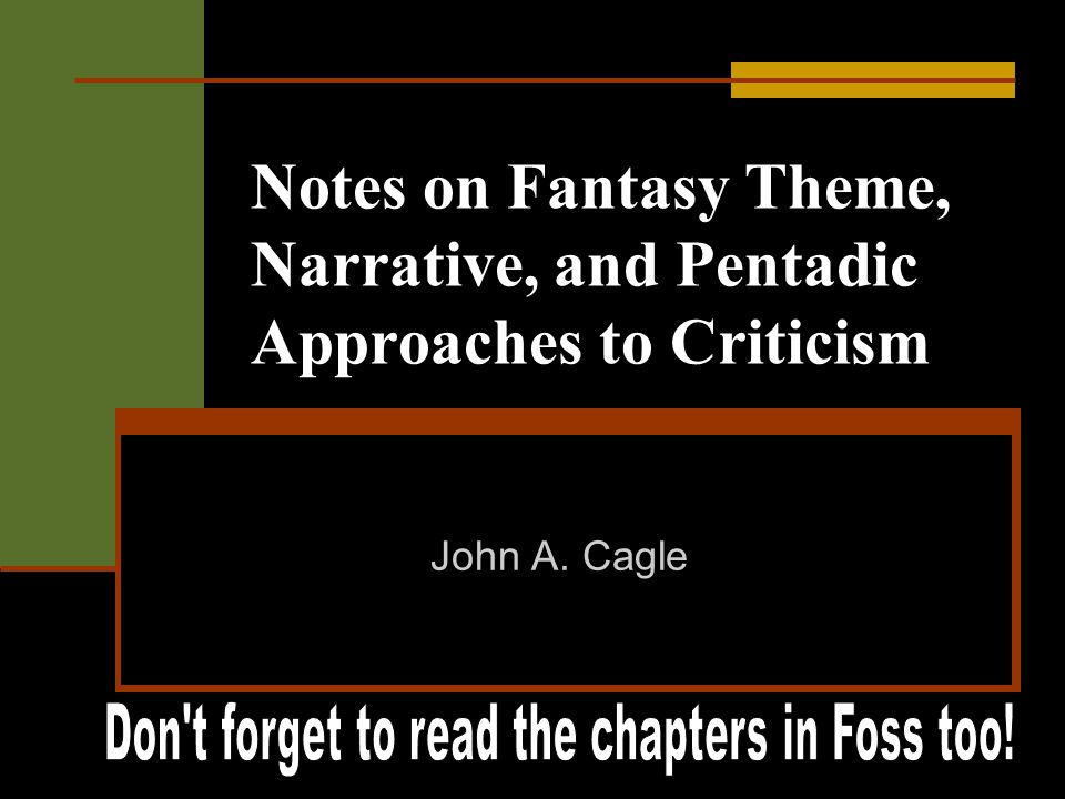 Don t forget to read the chapters in Foss too!