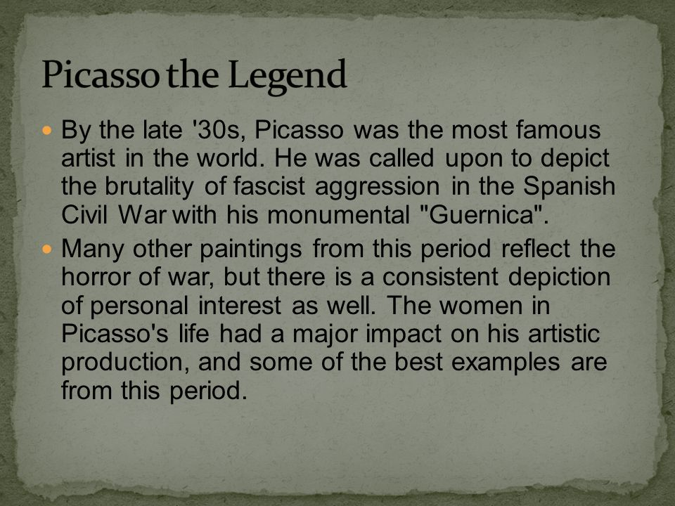 Picasso the Legend