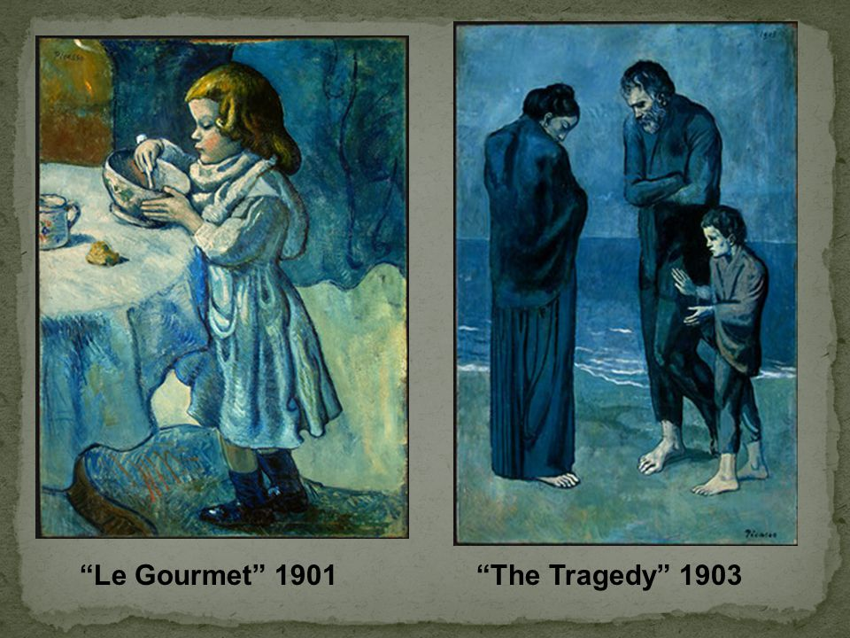Le Gourmet 1901 The Tragedy 1903