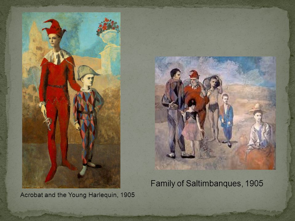 Family of Saltimbanques, 1905