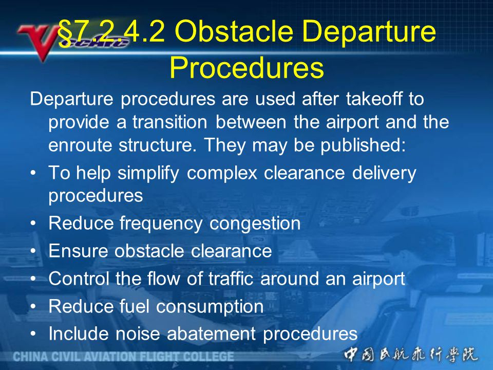 §7.2.4.2 Obstacle Departure Procedures