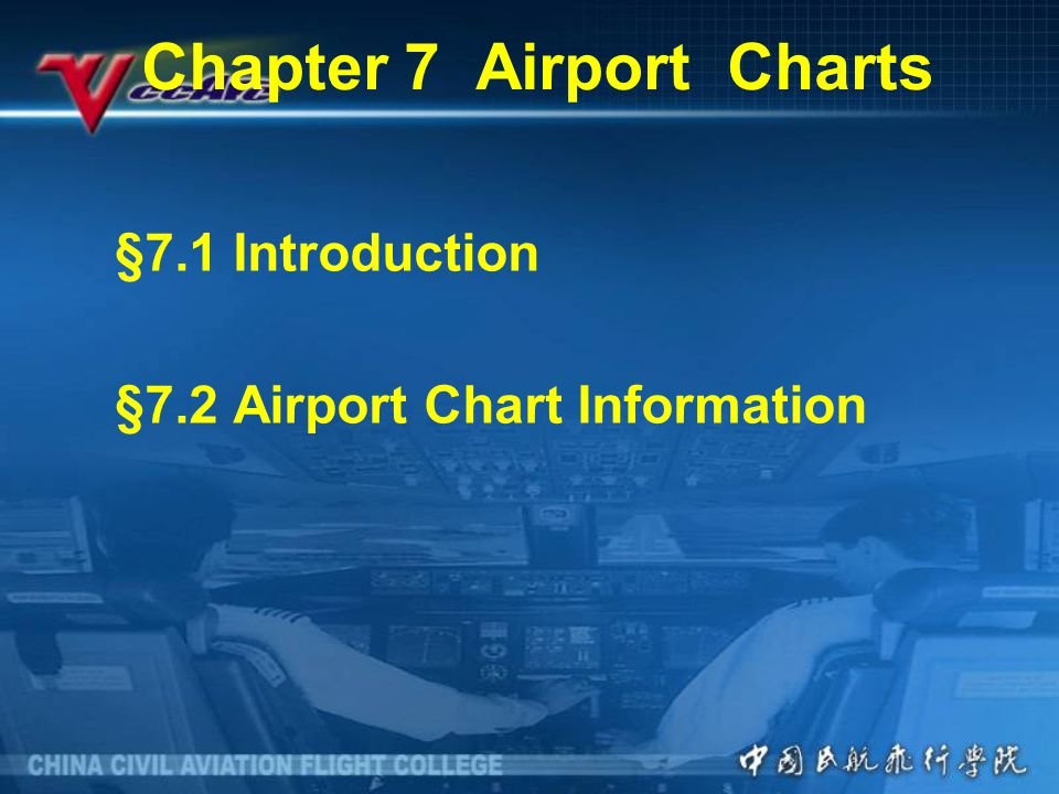 Chapter 7 Airport Charts