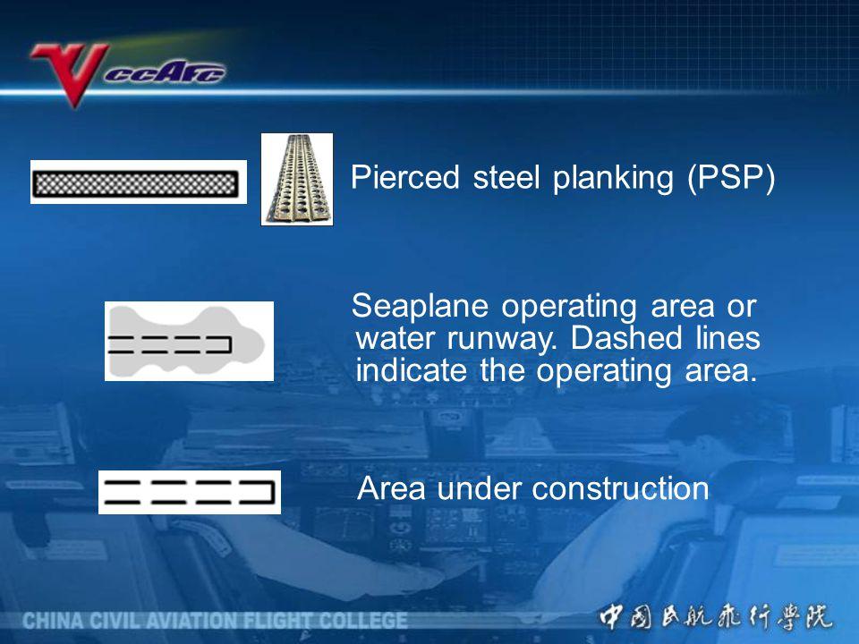 Pierced steel planking (PSP)