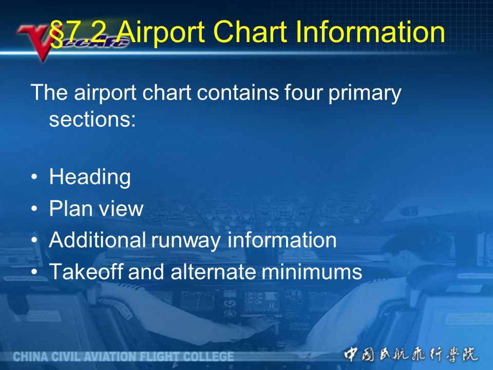 §7.2 Airport Chart Information