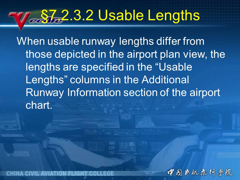 §7.2.3.2 Usable Lengths