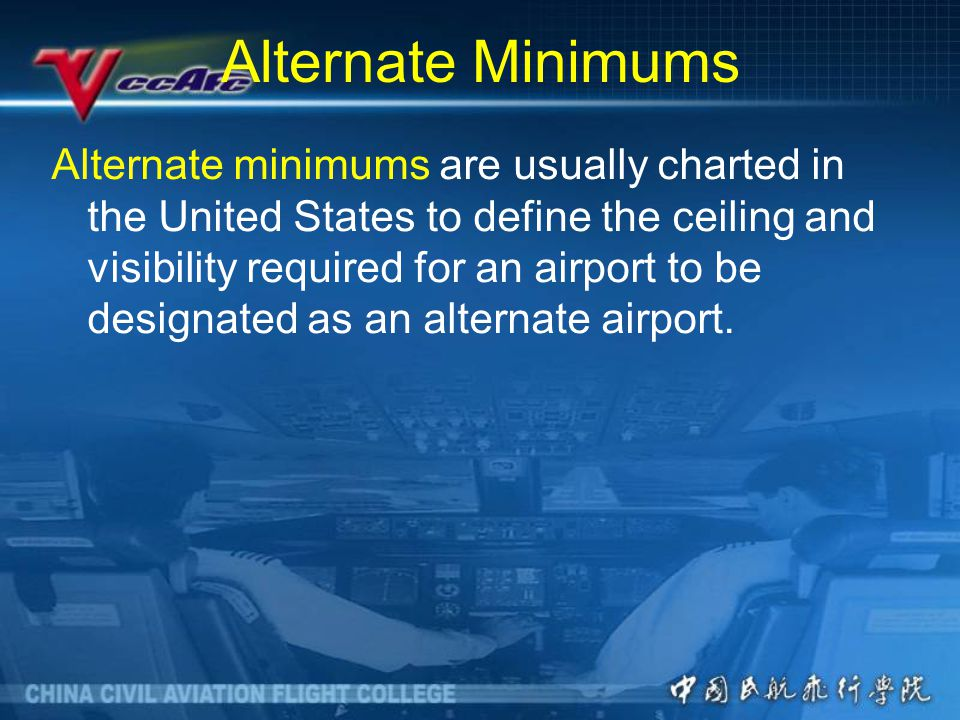 Alternate Minimums