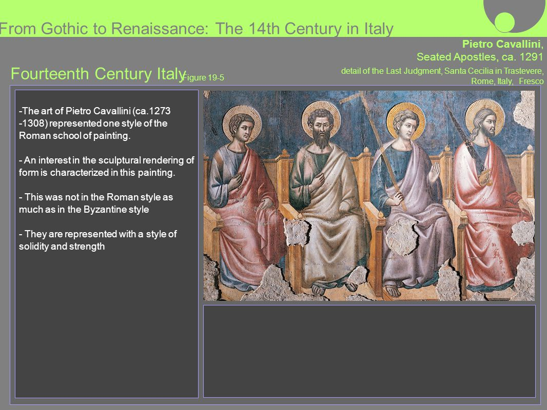 From Gothic to Renaissance: The 14th Century in Italy