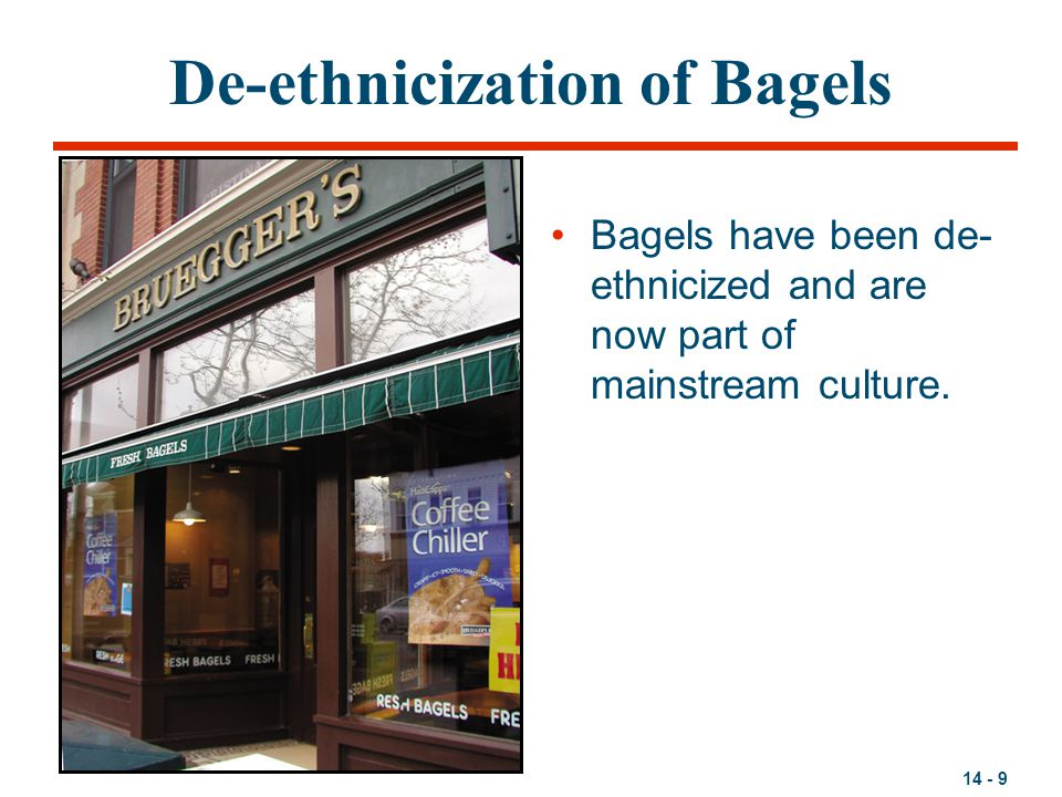 De-ethnicization of Bagels