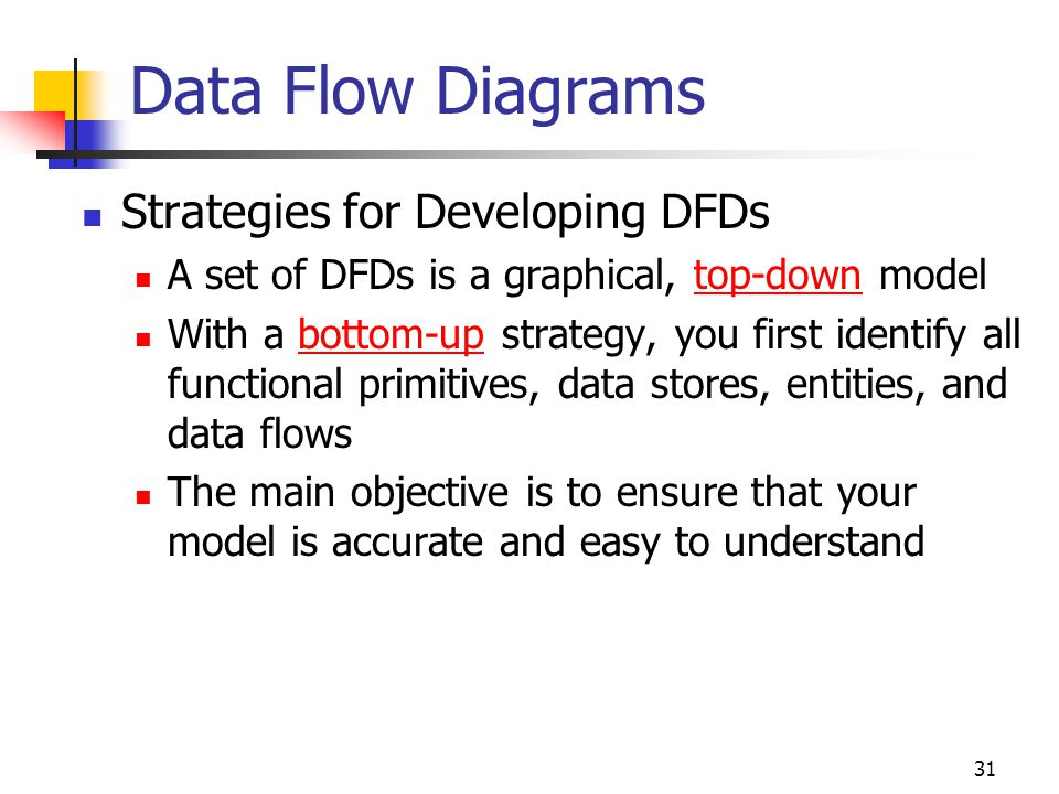 Data Flow Diagrams Strategies for Developing DFDs