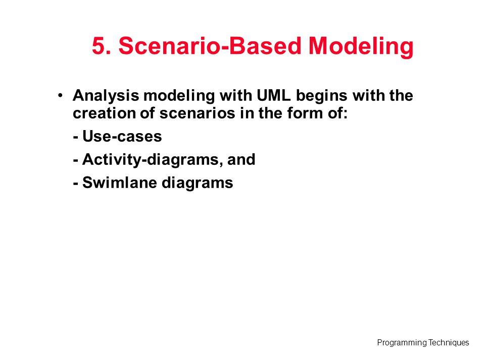 5. Scenario-Based Modeling
