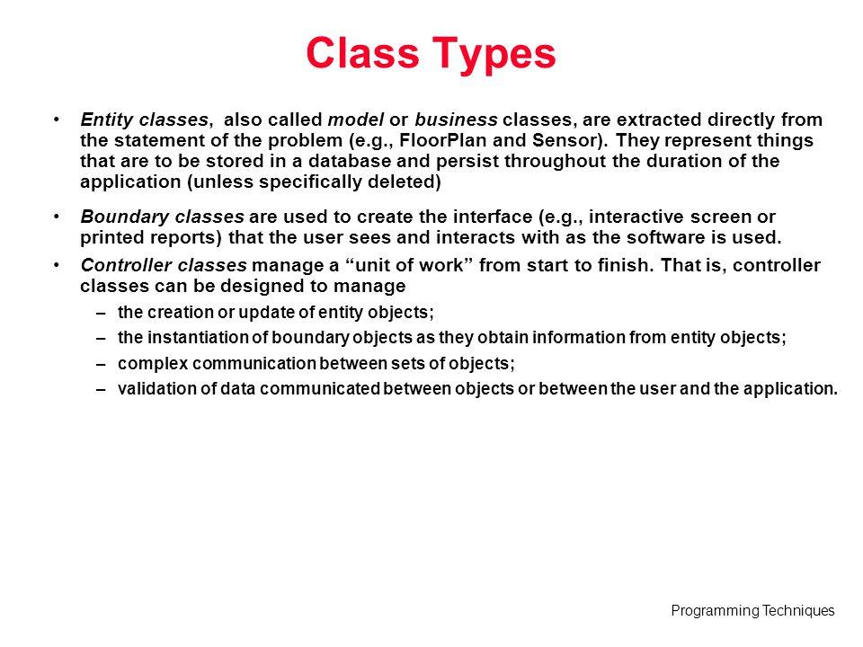 Class Types