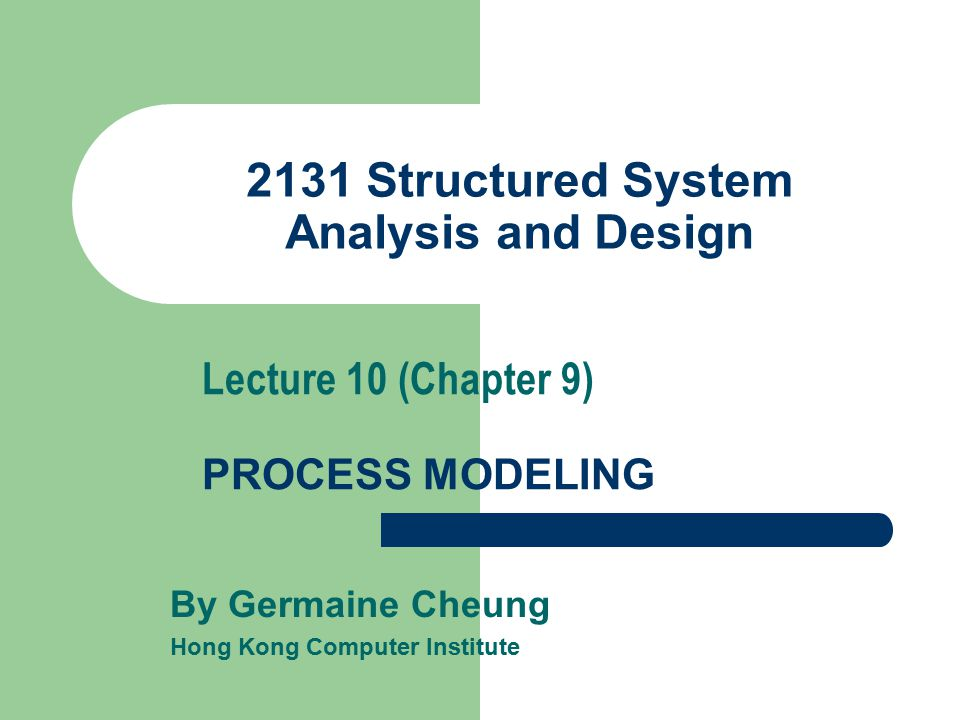 Systems Analysis and Design/Introduction