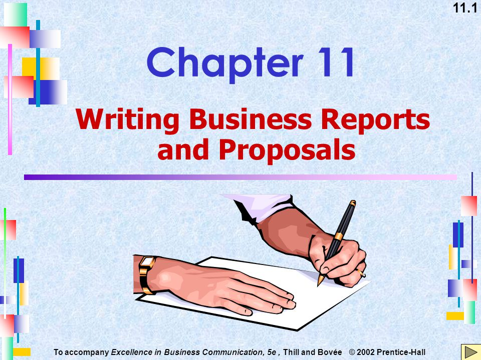 Writing Business Reports And Proposals Ppt Download