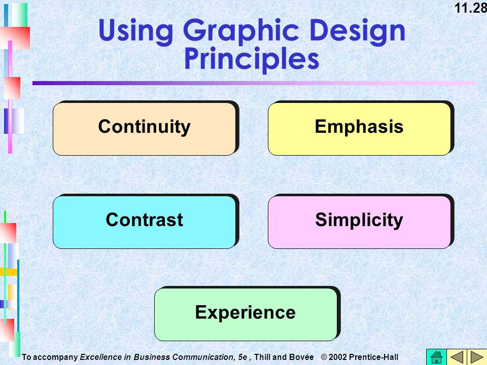 Using Graphic Design Principles