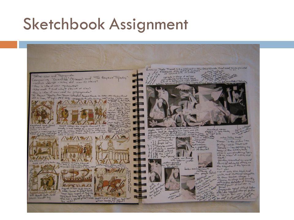 Sketchbook Assignment