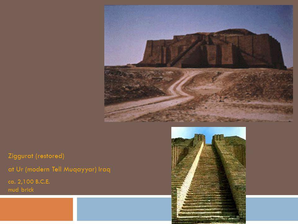 at Ur (modern Tell Muqayyar) Iraq