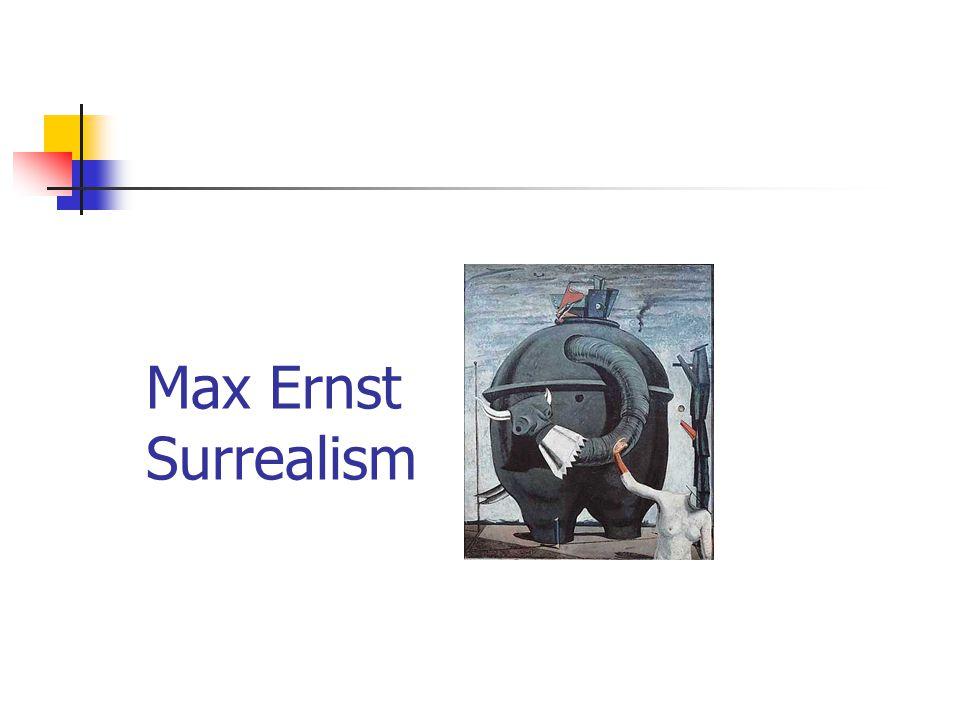 Max Ernst Surrealism