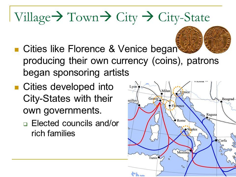 Village Town City  City-State