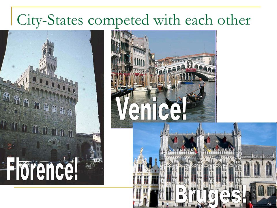 City-States competed with each other