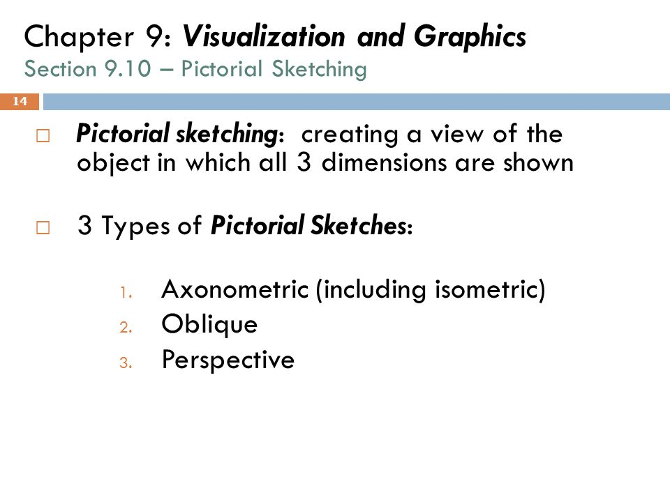 Chapter 9: Visualization and Graphics