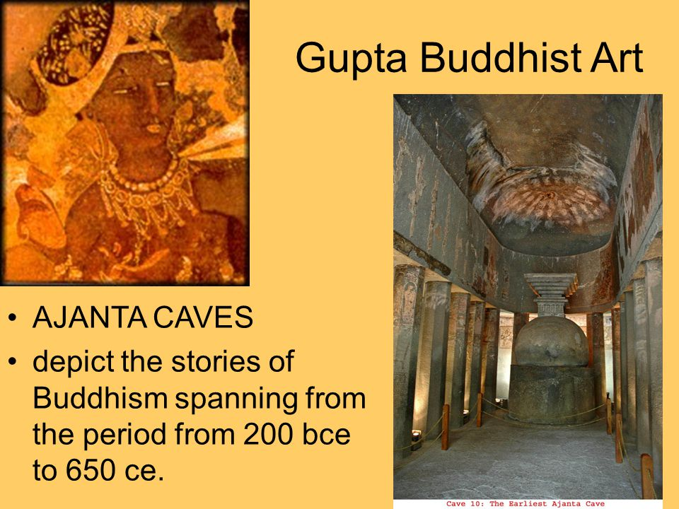 Gupta Buddhist Art AJANTA CAVES