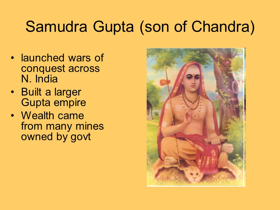 Samudra Gupta (son of Chandra)