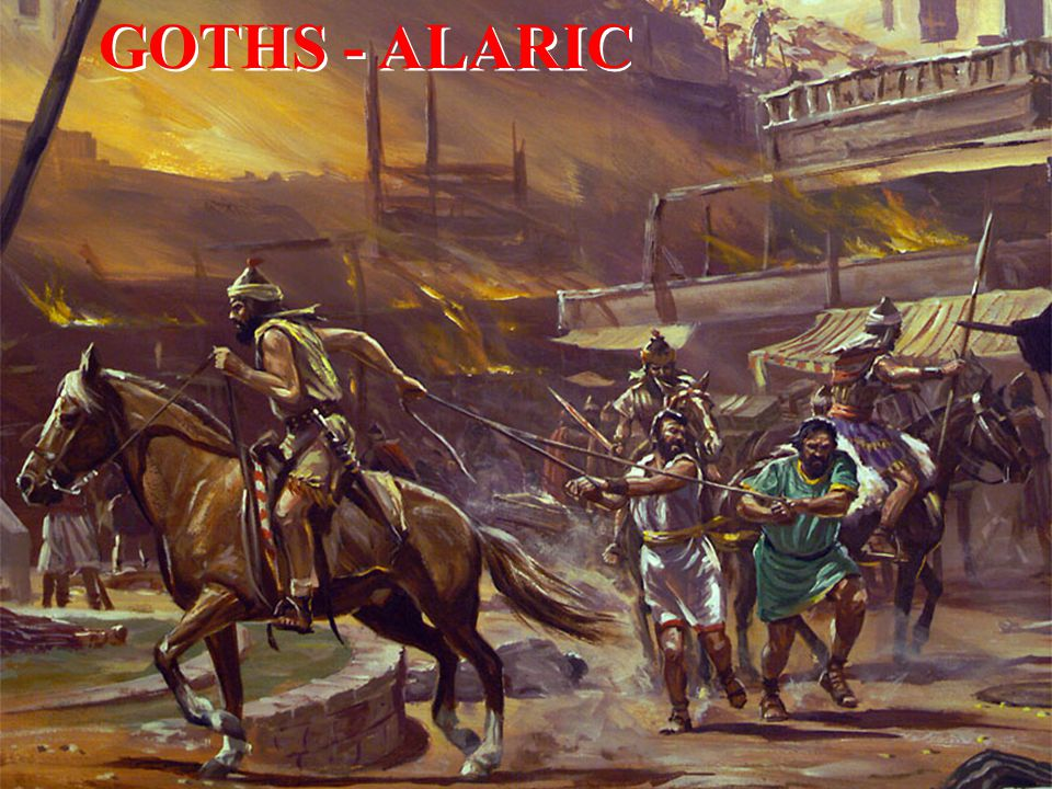 GOTHS - ALARIC
