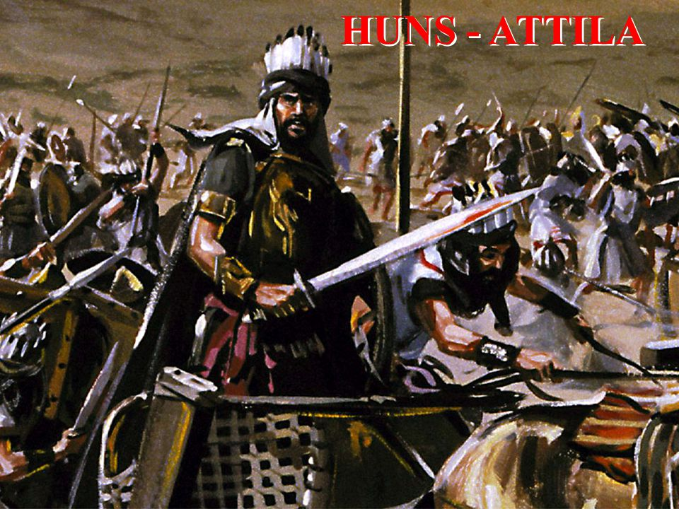 HUNS - ATTILA